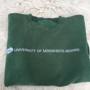 University of Minnesota Morris college sweatshirt